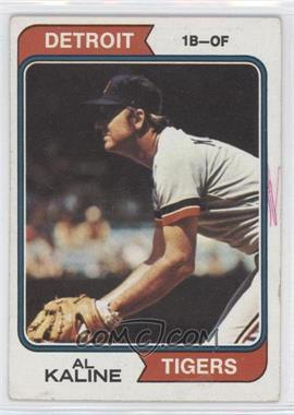1974 Topps #215 - Al Kaline