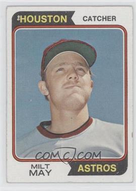 1974 Topps #293 - Milt May