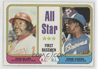 All Star First Basemen (Dick Allen, Hank Aaron)