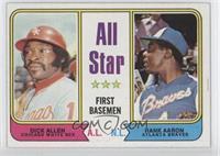 Dick Allen, Hank Aaron