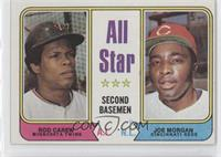 All Star 2nd Baseman (Rod Carew, Joe Morgan)