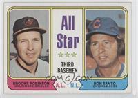 All Star Third Basemen (Brooks Robinson, Ron Santo)