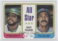 All Star Right Fielders (Reggie Jackson, Billy Williams)