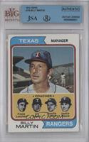 Billy Martin [BVG/JSA Certified Auto]