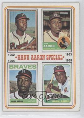 1974 Topps #4 - Hank Aaron Special (1962,1963,1964,1965)