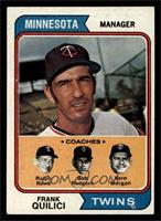 Twins Coaches (Frank Quilici, Ralph Rowe, Vern Morgan, Buck Rodgers) [EX]