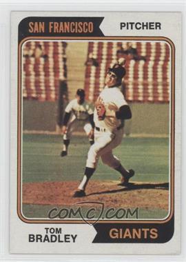 1974 Topps #455 - Tom Bradley