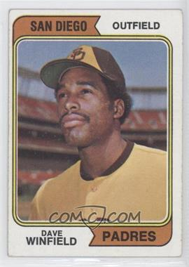 1974 Topps #456 - Dave Winfield