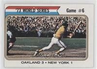 '73 World Series Game #6 (Reggie Jackson)