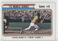 '73 World Series Game #6 (Reggie Jackson) [GoodtoVG‑EX]