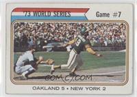 '73 World Series Game #7 [GoodtoVG‑EX]