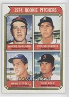 1974 Rookie Pitchers (Wayne Garland, Fred Holdsworth, Mark Littell, Dick Pole)