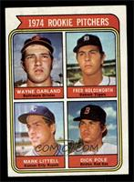 1974 Rookie Pitchers (Wayne Garland, Fred Holdsworth, Mark Littell, Dick Pole) …