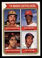 '74 Rookie Outfielders (Dave Augustine, Ken Griffey, Steve Ontiveros, Jim Tyron…