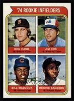 '74 Rookie Infielders (Ron Cash, Jim Cox, Bill Madlock, Reggie Sanders) [NM&nbs…
