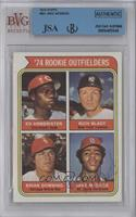 '74 Rookie Outfielders (Ed Armbrister, Rich Bladt, Brian Downing, Bake McBride)…