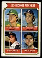 1974 Rookie Pitchers (Glenn Abbott, Rick Henninger, Craig Swan, Dan Vossler) [V…