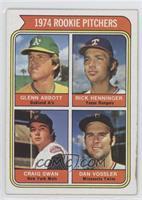 1974 Rookie Pitchers (Glenn Abbott, Rick Henninger, Craig Swan, Dan Vossler) [G…