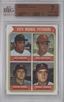 1974 Rookie Pitchers (Vic Albury, Ken Frailing, Kevin Kobel, Frank Tanana) [BVG…