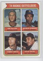 1974 Rookie Outfielders (Jim Fuller, Wilbur Howard, Tommy Smith, Otto Velez)