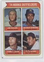 1974 Rookie Outfielders (Jim Fuller, Wilbur Howard, Tommy Smith, Otto Velez) [G…