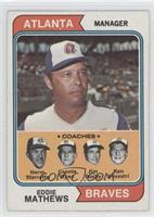 Braves Coaches (Eddie Mathews, Herm Starrette, Connie Ryan, Jim Busby, Ken Silv…