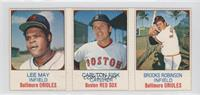 Lee May, Carlton Fisk, Brooks Robinson