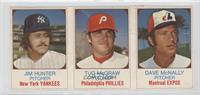 Jim Hunter, Tug McGraw, Dave McNally [Good to VG‑EX]