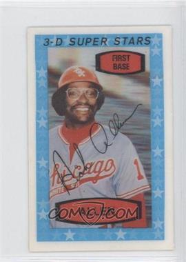 1975 Kellogg's 3-D Super Stars - [Base] #42 - Dick Allen