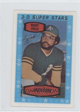 1975 Kellogg's 3-D Super Stars #54 - Reggie Jackson
