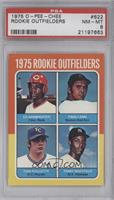 Ed Armbrister, Fred Lynn, Terry Whitfield, Tom Poquette [PSA 8]