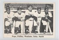 Larry Doby, Dave Pope, Dave Philley, Wally Westlake, Al Smith [Goodto&nbs…