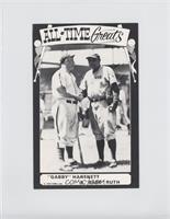 Gabby Hartnett, Babe Ruth [GoodtoVG‑EX]