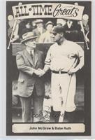 Babe Ruth, John McGraw [GoodtoVG‑EX]