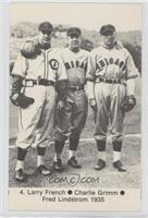 Charlie Root, Larry French, Tuck Stainback, Bill Lee