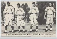 Larry French, Charlie Grimm, Fred Lindstrom