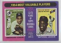 1954-Most Valuable Players (Yogi Berra, Willie Mays) [GoodtoVG&#820…