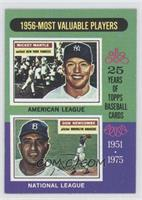 1956 Most Valuable Players (Mickey Mantle, Don Newcombe)