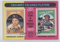 1959 Most Valuable Players(Nellie Fox, Ernie Banks)