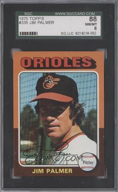 1975 Topps - [Base] #335 - Jim Palmer [SGC88]
