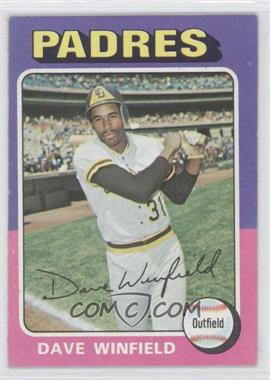 1975 Topps - [Base] #61 - Dave Winfield