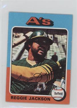 1975 Topps Minis - [Base] #300 - Reggie Jackson