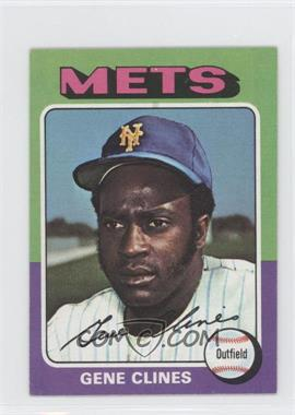 1975 Topps Minis - [Base] #575 - Gene Clines