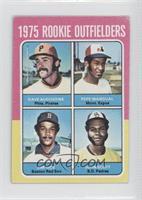 1975 Rookie Outfielders (Dave Augustine, Pepe Mangual, Jim Rice, John Scott) [G…