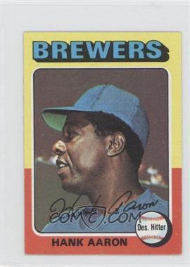 1975 Topps Minis - [Base] #660 - Hank Aaron