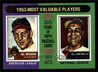 Al Rosen, Roy Campanella [NM]