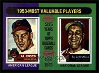 Al Rosen, Roy Campanella [NM MT]
