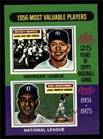 1956-Most Valuable Players (Mickey Mantle, Don Newcombe) [NM MT]