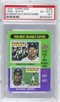 1956-Most Valuable Players (Mickey Mantle, Don Newcombe) [PSA6(ST)]