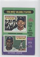 Mickey Mantle, Don Newcombe [Good to VG‑EX]